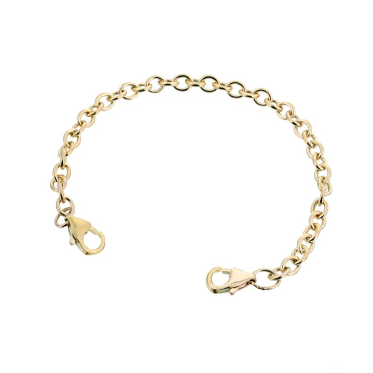 10K Gold-Filled Mingle Cable Band