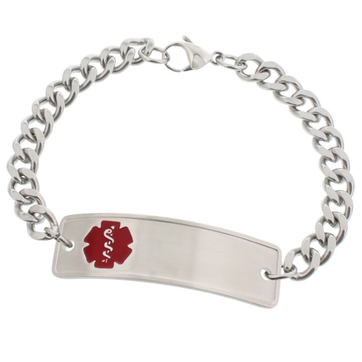 Stainless Steel Classic Red Bracelet